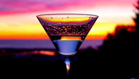 Martini Sunset in Del Mar